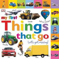 Penguin Random House My First Things that Go Tabbed Board Bk from Blain's Farm and Fleet