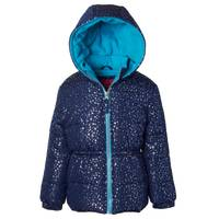 iXtreme Girls Foil Print Puffer Jacket from Blain's Farm and Fleet