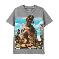 Carter's Boy's Dino In The City Tee from Blain's Farm and Fleet