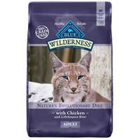 Blue Buffalo Wilderness Nature's Evolutionary Diet with Chicken Cat Food from Blain's Farm and Fleet