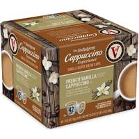 Victor Allen's Coffee 42 Count French Vanilla Cappuccino from Blain's Farm and Fleet