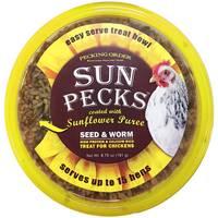 Pecking Order Sun Pecks Treat Bowl from Blain's Farm and Fleet