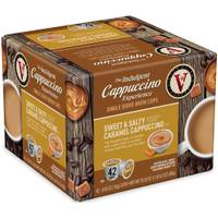 Victor Allen's Coffee 42 Count Sweet & Salty Caramel Cappuccino from Blain's Farm and Fleet