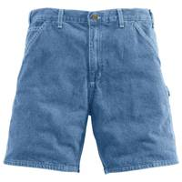 Carhartt Men's Deepstone Denim Work Shorts from Blain's Farm and Fleet