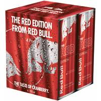 Red Bull 4 Pack 8.4 oz Red Edition from Blain's Farm and Fleet