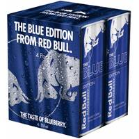 Red Bull 4 Pack 8.4 oz Blue Edition from Blain's Farm and Fleet