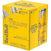 Red Bull 4 Pack 8.4 oz Yellow Edition from Blain's Farm and Fleet