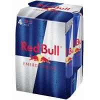 Red Bull 12 oz Energy Drink 4-Pack from Blain's Farm and Fleet