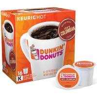 Keurig 16 Count Dunkin Donuts 100% Colombian from Blain's Farm and Fleet