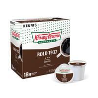 Keurig 18 Count Krispy Kreme Doughnuts Dark Roast Coffee from Blain's Farm and Fleet