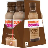 Dunkin' Donuts 9.4 oz Mocha Iced Coffee 4-Pack from Blain's Farm and Fleet