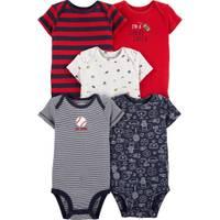 Carter's Infant Boy's 5-Pack Short Sleeve Bodysuits from Blain's Farm and Fleet