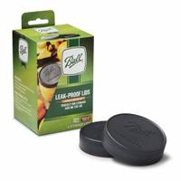 Ball 6-Pack Regular Mouth Leak-Proof Storage Lids from Blain's Farm and Fleet