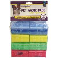 Multipet International Words Print Waste Bags 16 Rolls/240 Count from Blain's Farm and Fleet