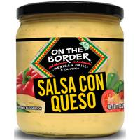 On The Border 15.5 oz Salsa Con Queso from Blain's Farm and Fleet