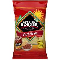 On The Border 12 oz Cafe Style Chips from Blain's Farm and Fleet