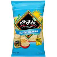 On The Border 11.5 oz Tortilla Rounds Chips from Blain's Farm and Fleet