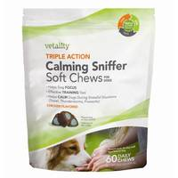 Vetality 60 Count Calming Soft Chews for Dogs from Blain's Farm and Fleet
