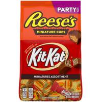 Hershey's 35 oz Kit Kat/Reese's Miniatures Assortment from Blain's Farm and Fleet