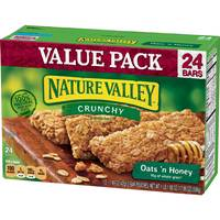 Nature Valley 12 Count Crunchy Oats & Honey Granola Bars from Blain's Farm and Fleet