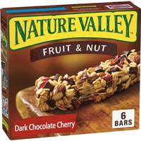 Nature Valley 6 Count Fruit & Nut Dark Chocolate Cherry Granola Bars from Blain's Farm and Fleet