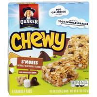Quaker 8 Count Chewy S'mores Granola Bars from Blain's Farm and Fleet