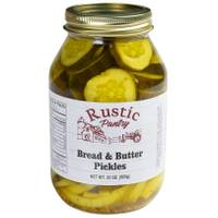 Rustic Pantry 32 oz Bread N' Butter Pickles from Blain's Farm and Fleet
