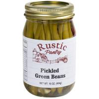 Rustic Pantry 16 oz Pickled Green Beans from Blain's Farm and Fleet