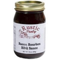 Rustic Pantry 16 oz Bacon Bourbon BBQ Sauce from Blain's Farm and Fleet
