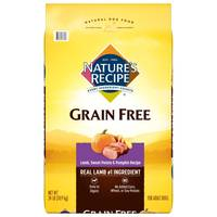 Nature's Recipe 24 lb Grain Free Lamb Dog Food from Blain's Farm and Fleet