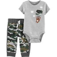 Carter's Infant Boy's 2-Piece Camo Koala Bodysuit Pant Set from Blain's Farm and Fleet