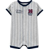 Carter's Infant Boy's Baseball Snap-Up Romper from Blain's Farm and Fleet