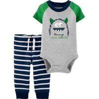 Carter's Infant Boy's 2-Piece Monster Bodysuit Pant Set from Blain's Farm and Fleet
