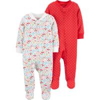 Carter's Infant Girl's 2-Pack Zip-Up Cotton Sleep and Plays from Blain's Farm and Fleet