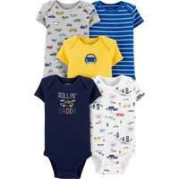Carter's Infant Boy's 5-Pack Cars Original Bodysuits from Blain's Farm and Fleet