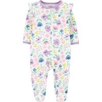 Carter's Infant Girl's Floral 2-Way Zip Cotton Sleep and Play from Blain's Farm and Fleet