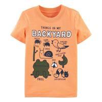 Carter's Toddler Boy's Glow Things In My Backyard Slub Jersey Tee from Blain's Farm and Fleet