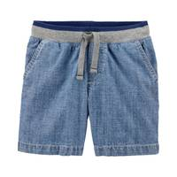 Carter's Toddler Boy's Easy Pull-On Chambray Dock Shorts from Blain's Farm and Fleet