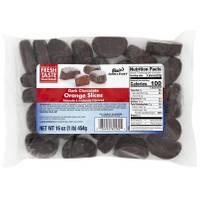 Blain's Farm & Fleet 16 oz Dark Chocolate Orange Slices from Blain's Farm and Fleet