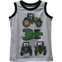John Deere Toddler Boy's Tractor View Muscle Tee from Blain's Farm and Fleet