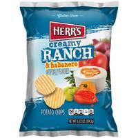 Herr's 6.5 oz Creamy Ranch and Habenaro Chips from Blain's Farm and Fleet