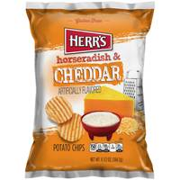 Herr's 6.5 oz Horse Radish and Cheddar Chips from Blain's Farm and Fleet
