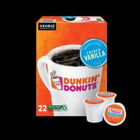 Dunkin' Donuts 22 Count French Vanilla Coffee K-Cup Pods from Blain's Farm and Fleet