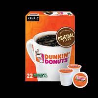 Dunkin' Donuts 22 Count Original Blend Medium Roast Coffee K-Cup Pods from Blain's Farm and Fleet