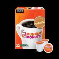 Dunkin' Donuts 22 Count Hazelnut Coffee Pods from Blain's Farm and Fleet