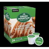 Green Mountain Coffee 24 Count Caramel Vanilla Cream Coffee K-Cup Pods from Blain's Farm and Fleet