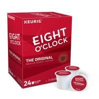 Eight O'Clock 24 Count Original Medium Roast Coffee K-Cup Pods from Blain's Farm and Fleet