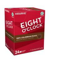 Eight O'Clock 24 Count 100% Colombian Peaks Medium Roast Coffee K-Cup Pods from Blain's Farm and Fleet