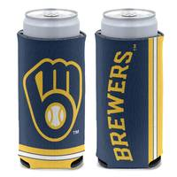 All Star Sports Milwaukee Brewers Slim Can Cooler from Blain's Farm and Fleet