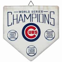 All Star Sports Chicago Cubs Metal Home Plate Sign from Blain's Farm and Fleet
